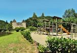 Camping avec Piscine couverte / chauffée Corrèze - Château du Gibanel-2